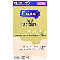 Enfamil Fer-In-Sol Drops 50 ml (paquete de 2)
