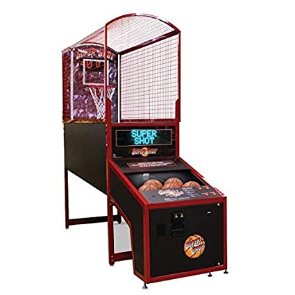 Amazon Com Super Shot Deluxe Electronic Basketball Game