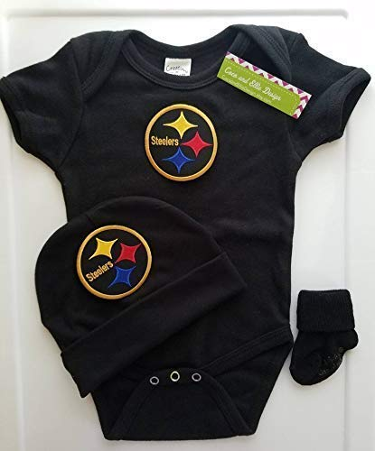 finest selection d75fa d13c2 Amazon.com: Pittsburgh Steelers baby clothes/Pittsburgh ...