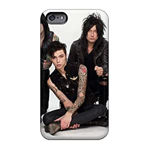 Great Hard Phone Cases For Iphone 6 With Customized Vivid Black Veil Brides Band BVB Pictures JonBradica
