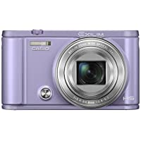 Casio Exilim Selfie Digital Camera EX-ZR3600VT (Violet) - International Version (No Warranty) Benefits Review Image