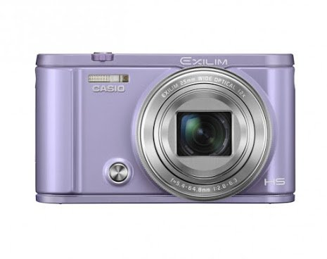 Casio Exilim Selfie Digital Camera EX-ZR3600VT (Violet) - International Version (No Warranty)
