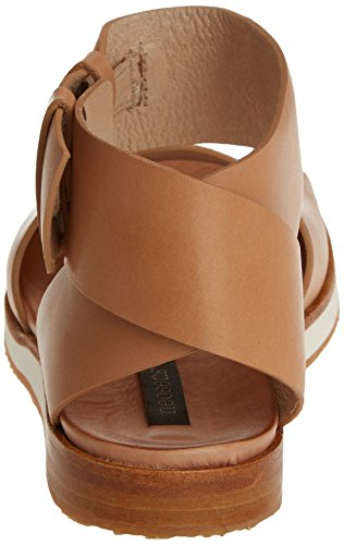 Neosens Women's S500 Restored Skin Wood Cortese Sandals with Ankle Strap Beige (Wood) pgRWB