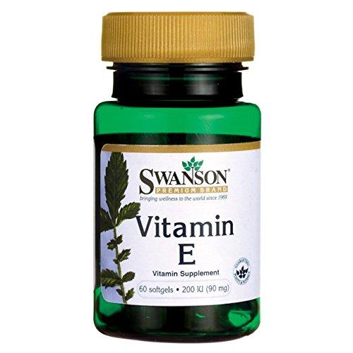 Swanson Vitamin E 200 Iu 200 Iu 60 Sgels
