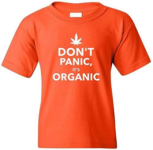 Danielles Custom Crafts Shirt Weed T Cannabis Organic Tee Shirts Designed Graphic Funny Gift Marijuana Orange