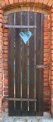 1art1 Doors Poster Adhesive Photo Wall-Print - The Doorway to My Dream Beach (71 x 31 inches)