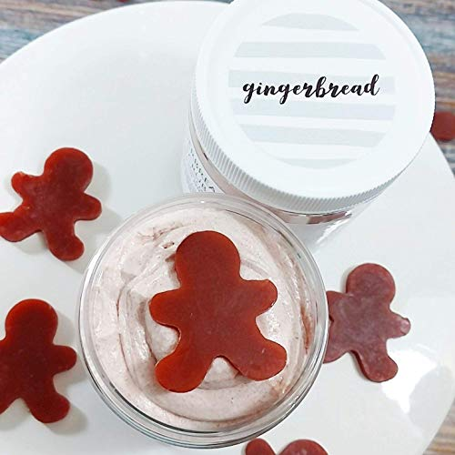 Gingerbread Whipped Sugar Scrub Soap. Holiday gifts. Christmas stocking stuffers. Body Polish ()