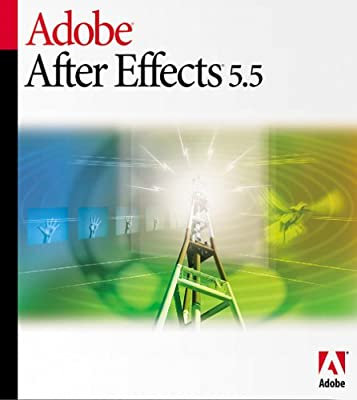 Adobe After Effects 5.5 Production Bundle Upgrade from 5.0 Standard [Old Version]