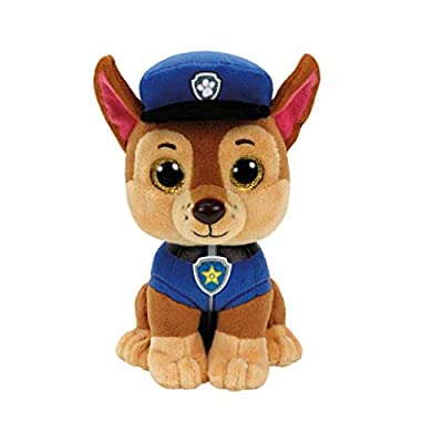 Ty 41208 Paw Patrol - Chase with Glitter Eyes 15 cm: Toys & Games