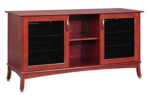Lcd Tall Tv Console - Norwalk 60-inch Solid Wood Media Console / TV Console / TV Stand for Flat Screen TVs to 65 inch by Standout Designs