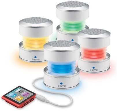 ihome mini speaker color changing