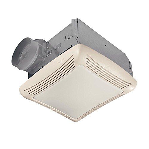 small bathroom fan with light - 6