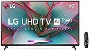 "Smart TV 50"" 4K LG 50UN7310PSC, UHD, WiFi, Bluetooth, HDR, Inteligência Artificial ThinQ AI, Smart Magic,"