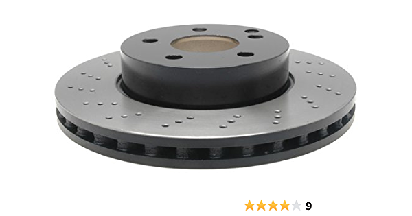 Power Stop EBR1047XPR Rear Evolution Drilled /& Slotted Rotor Pair
