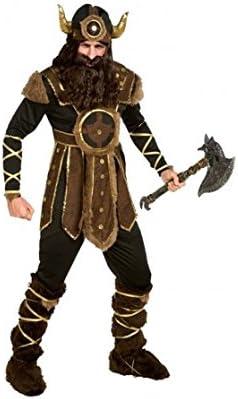 Disfraz Vikingo hombre adulto para Carnaval (S): Amazon.es ...