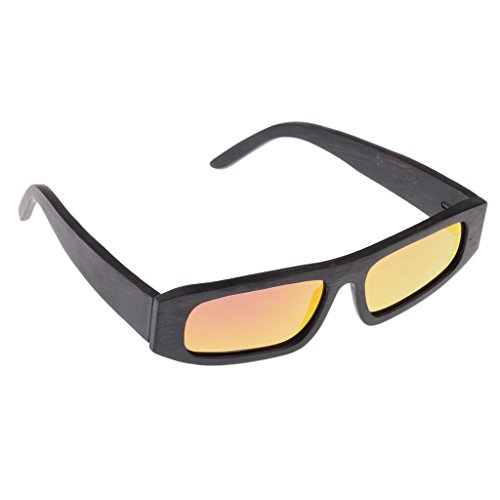 Sharplace Sol Caja con de de Vintage Bambú Cuadrada de Duradero Rojo non Forma Accesorios Gafas Almacenamiento brand Moda Madera c5AqRRaIZ