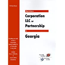 How to Form a Corporation LLC or Partnership in Georgia