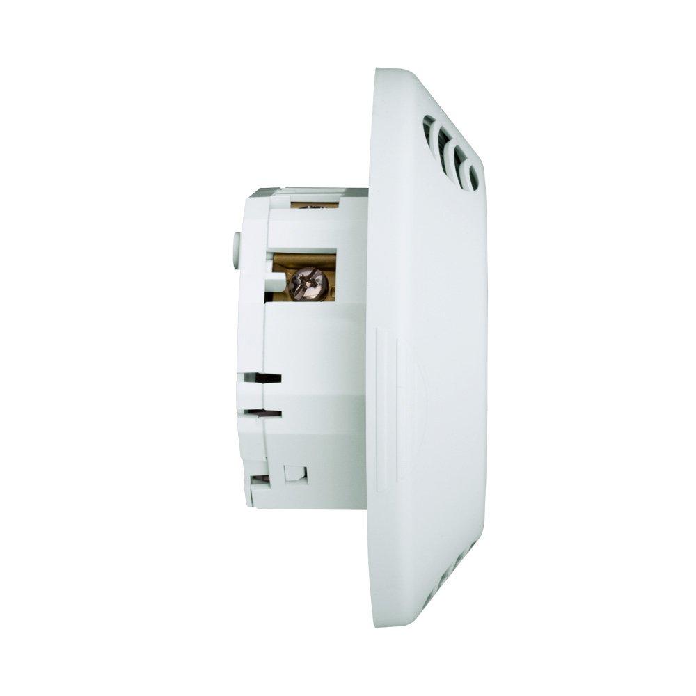 Leviton odc Series montaje en techo sensor de ocupación, 120 - 277 V, color blanco: Amazon.es: Bricolaje y herramientas