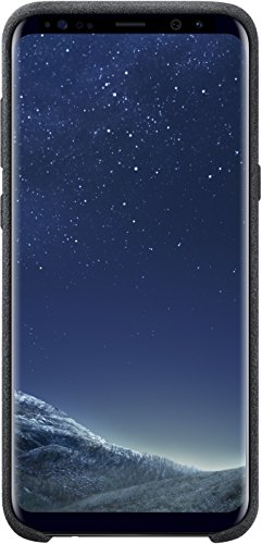 Genuine Samsung Alcantara Cover Case for Samsung Galaxy S8+ / S8 Plus ONLY- Dark Gray (EF-XG955ASEGWW)
