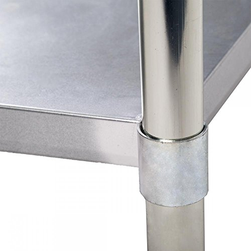 Commercial Kitchen Restaurant Stainless Steel Work Table, 24 X 48 Inchs by FDW (Image #2)
