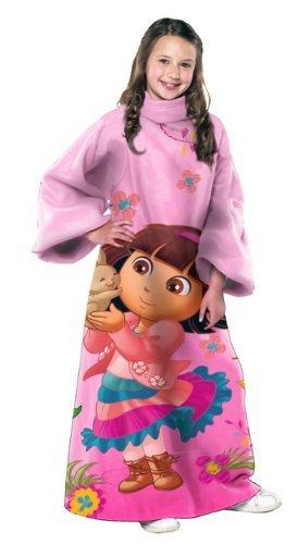 Dora The Explorer Fleece Fabric - Northwest Enterprises Dora the Explorer Polyester Throw
