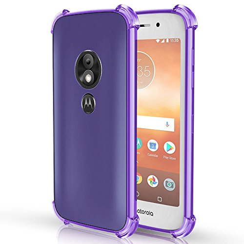 Moto E5 Cruise Case, Moto E5 Play Case, OEAGO [Ultra Slim Thin] with Soft Feel Flexible and Easy Grip Gel Premium TPU Rubber Silicone Skin Cover for Motorola Moto E5 Cruise/Moto E5 Play Phone, Purple (Skin Phone Purple)