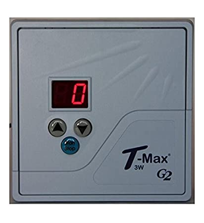TMax 3W G2 (3A) Digital Tanning Bed Timer Wireless Ready 10 Minutes
