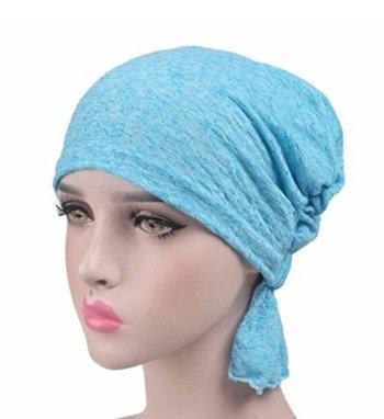 Perdita dei capelli Sonno 5Five Turbante chemioterapia 1pcs Turbante donna sciarpe testa confortevole per Make-up Cancro Chemioterapia