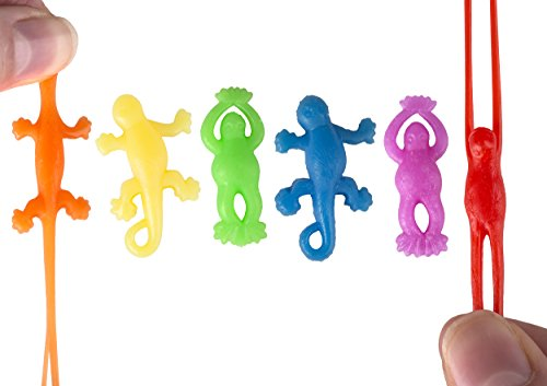 Mini Stretchy Flying Lizards & Frogs (144 pc)