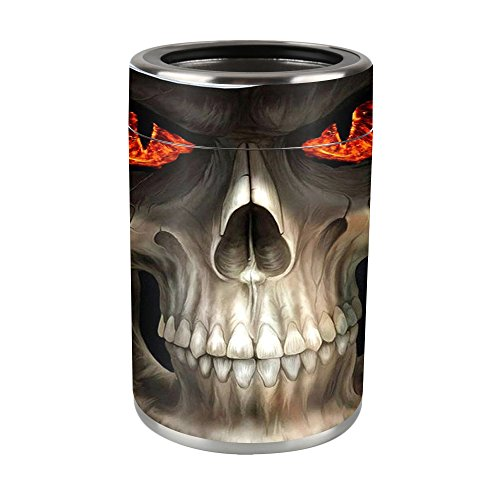MightySkins Skin Compatible with Ozark Trail 12 oz Can wrap Cover Sticker Skins Evil -