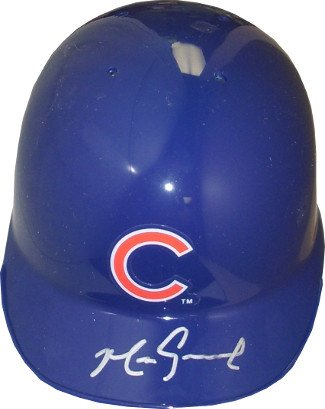 Mark Grace signed Chicago Cubs Mini Batting Helmet by Athlon Sports Collectibles