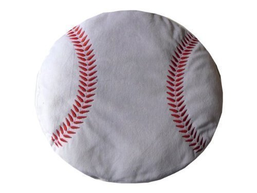 - Rhose Island Novelty Baseball Plush Pillow