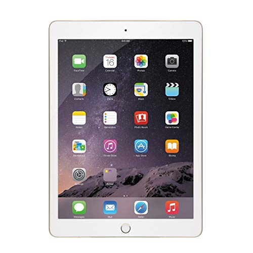 Apple iPad Air 2 9.7-Inch, 32GB Tablet (Gold) (Refurbished)