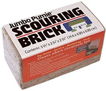 (Pack of 2) US Pumice Jumbo Pumie Scouring Brick
