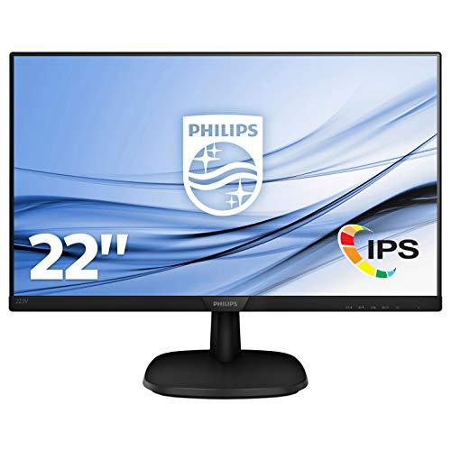 🥇 Philips 223V7QHAB/00 – Monitor IPS de 21.5″ con Altavoces