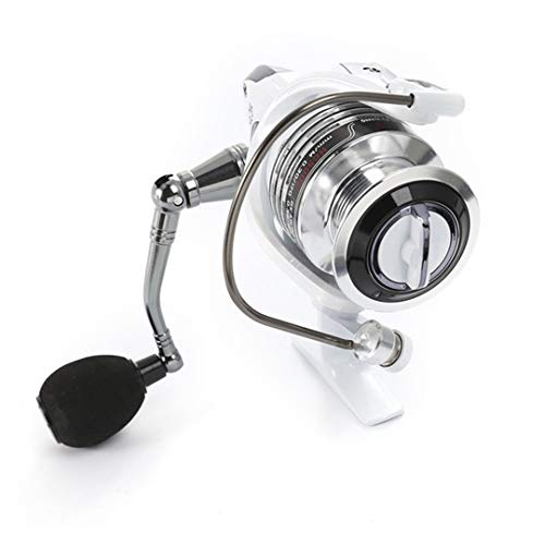 KEHAINIU 13 + 1BB Gear Ratio Up to 5.1:1 Spinning Fishing Reel Automatic Folding with Exchangeable H le for Casting Line as The Picture 1000 Series