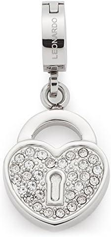 Leonardo Jewels Femme Acier inoxydable|#Stainless Steel Transparent Verre
