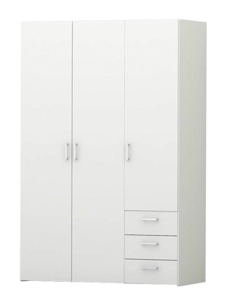 Générique Space Armoire 116x49x175 cm Blanc