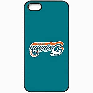 Personalized Case For Iphone 6 Plus (5.5 Inch) Cover Cell phone Skin Nfl Miami Dolphins 4 Sport Black