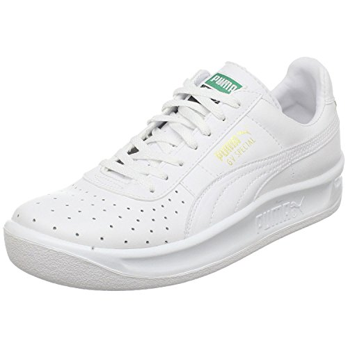 PUMA GV Special JR Sneaker (Little Kid/Big Kid), White/White, 3.5 M US Big Kid (Puma Gv Special White)