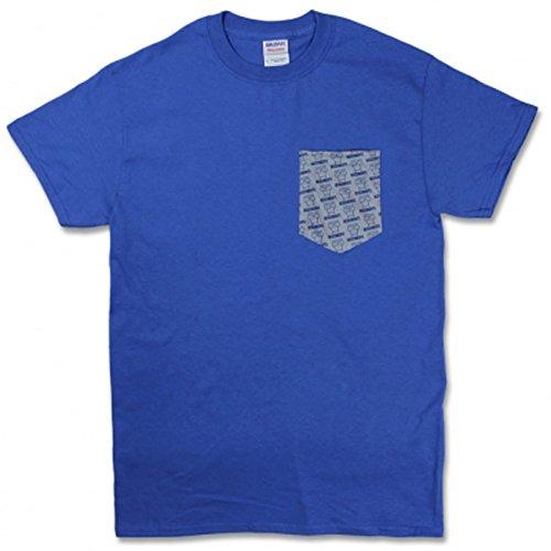 Men's Descendents Milo Pattern Pocket Tee Blue (Pattern Pocket Tee)