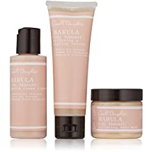 Marula Curl Therapy Collection 3-Piece Starter Kit: Cleaner 60ml + Styling Lotion 60ml + Hair Mask 60ml - 3pcs
