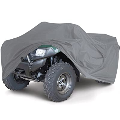 OxGord Executive Storm-Proof ATV Cover - 100% Water-Proof 7 Layers -Developed for Any & All Conditions - Ready-Fit / Semi Glove Fit