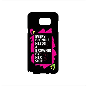 Fmstyles - Samsung Note 5 Mobile Case - Every blondie needs a brownie