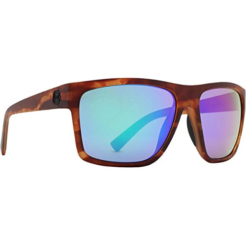 (Von Zipper Dipstick Wildlife Polarized Plus Sunglasses-Tortoise Satin-Green Flash)