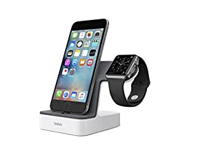 Belkin PowerHouse Charge Dock for Apple Watch and iPhone, Compatible with iPhone 8, iPhone 8 Plus, iPhone X and Apple Watch Series 3