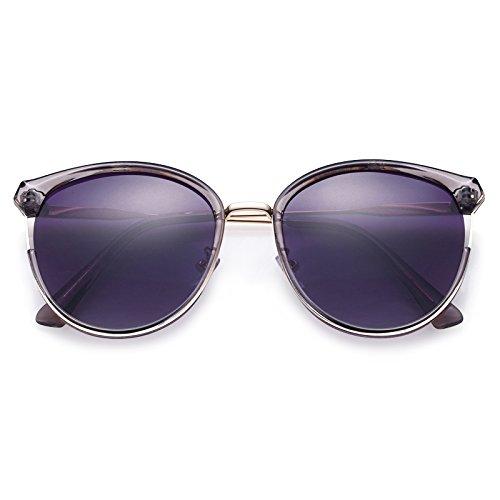 Marco De Gafas Gafas Y Violeta Gafas Xue De Grandes De zhenghao Sol Violeta Oscuras Gafas Sol wOEERq0
