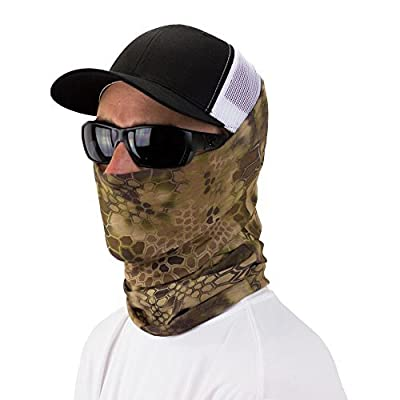 Kryptek™ Multi-Use Neck Gaiter Bandana Face Mask By Hoo-rag® - Wear It Over 15 Different Ways - Fashion Forward & Functional