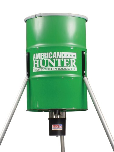 American Hunter 350 Pound Tripod Feeder with R-Kit