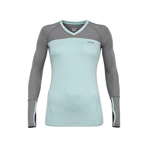 Zoot Sports Women's Ocean Side Long Sleeve Hoodie, Large, Lagoon